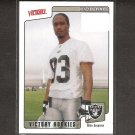 KEN-YON RAMBO 2001 Victory Rookie Card RC - Oakland Raiders & Ohio State Buckeyes