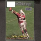 TOM KNIGHT - 1997 Topps Stadium Club ROOKIE - Iowa Hawkeyes & Arizona Cardinals