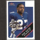 RON DAYNE - 2000 Fleer Tradition RC - NY Giants & Wisconsin Badgers