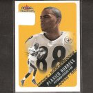 PLAXICO BURRESS - 2000 Fleer Tradition Rookie Card RC -Steelers, NY Jets & Michigan State Spartans