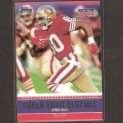 JERRY RICE - 2011 Topps Super Bowl Legends - 49ers & Mississippi Valley State