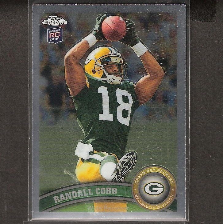 RANDALL COBB 2011 Topps Chrome Rookie Card RC - Packers & Kentucky Wildcats