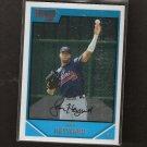 JASON HEYWARD 2007 Bowman Chrome DRAFT Rookie Card RC - Atlanta Braves