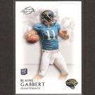 BLAINE GABBERT 2011 Topps Legends Rookie Card RC - Jacksonville Jaguars & Missouri Tigers