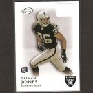 TAIWAN JONES 2011 Topps Legends Rookie Card RC - Oakland Raiders & Eastern Washington