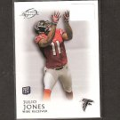 JULIO JONES 2011 Topps Legends Rookie Card RC - Atlanta Falcons & Alabama Crimson Tide