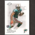 DANIEL THOMAS 2011 Topps Legends Rookie Card RC - Miami Dolphins & Kansas State Wildcats