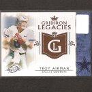 TROY AIKMAN 2011 Topps Legends Gridiron Legacies - Dallas Cowboys & UCLA Bruins