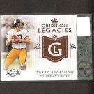 TERRY BRADSHAW 2011 Topps Legends Gridiron Legacies - Steelers & Louisiana Tech