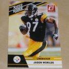 JASON WORILDS - 2010 Donruss Rated Rookie RC - Steelers & Virginia Tech Hokiess