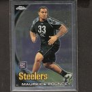 MAURKICE POUNCEY 2010 Topps Chrome Rookie RC - Steelers & Florida Gators
