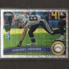 VINCENT JACKSON 2011 Topps Chrome X-Fractor - Chargers & Northern Colorado