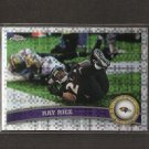 RAY RICE 2011 Topps Chrome X-Fractor - Ravens & Rutgers