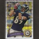 TANDON DOSS 2011 Topps Chrome X-Fractor RC Rookie - Ravens & Indiana Hoosiers