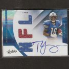 TITUS YOUNG 2011 Absolute RPM Memorabilia Autograph RC Rookie - Lions & Boise State