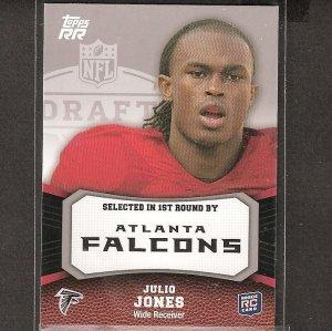 JULIO JONES - 2011 Topps Rated Rookie - Atlanta Falcons & Alabama Crimson Tide