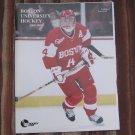 2000-01 Boston University Terriers NCAA PROGRAM - BU Hockey, Mike Pandolfo