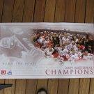 2009 NCAA Hockey NATIONAL CHAMPIONSHIP Commemorative POSTER - Boston University Terriers