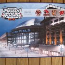 2010 NCAA Hockey Frozen Four National Championship Poster - BC Eagles, Miami, R.I.T., Wisconsin