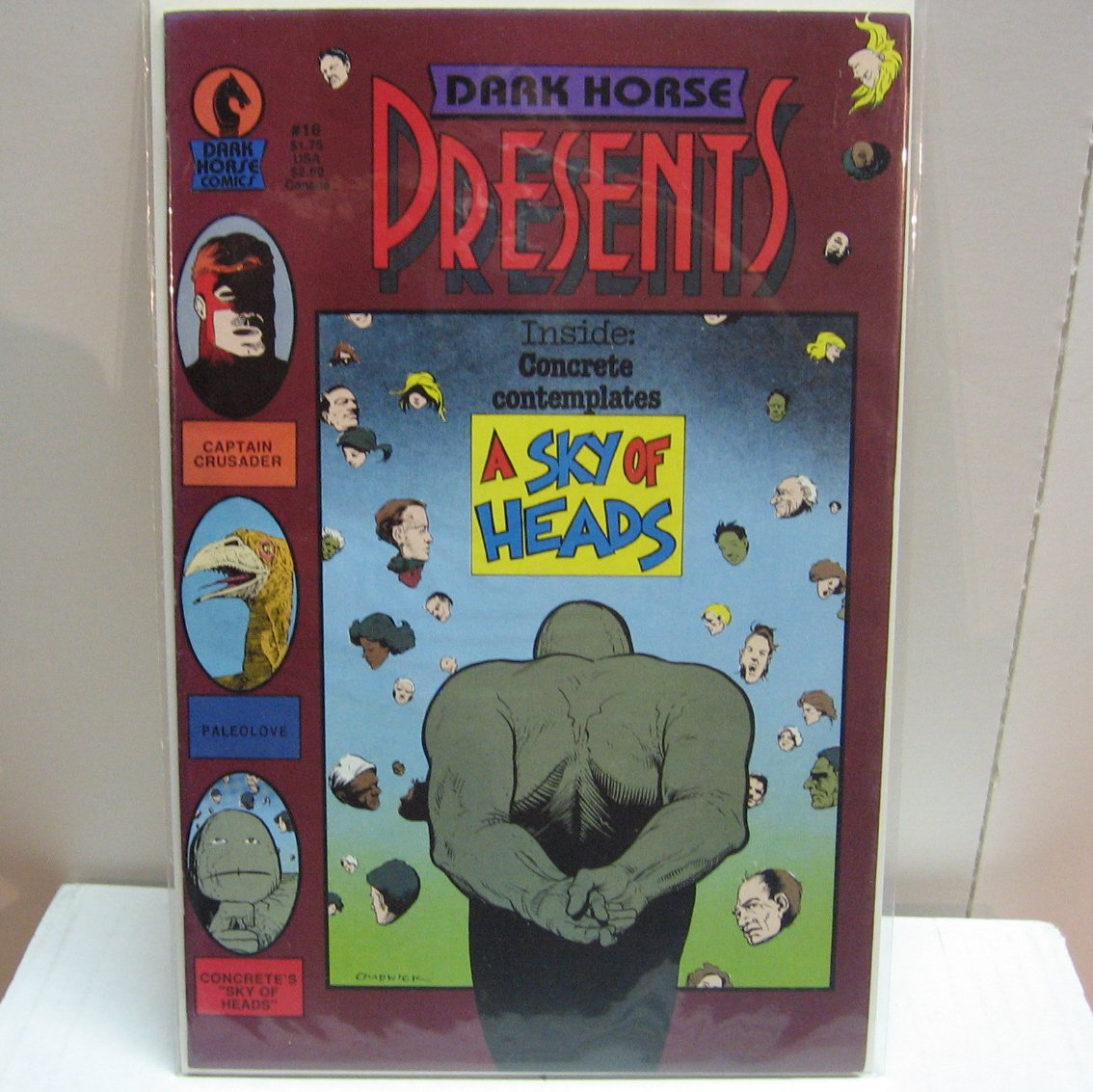 DARK HORSE PRESENTS #16 Comic Book - Concrete Appearance