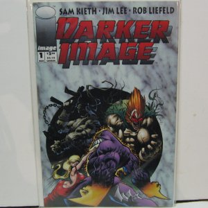 DARKER IMAGE #1 Comic Book - Sam Keith, Jim Lee, Rob Liefield THE MAXX - Image Comics