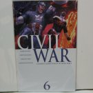 CIVIL WAR #6 Comic Book - Millar, McNiven, Vines, Hollowell - Marvel Comics