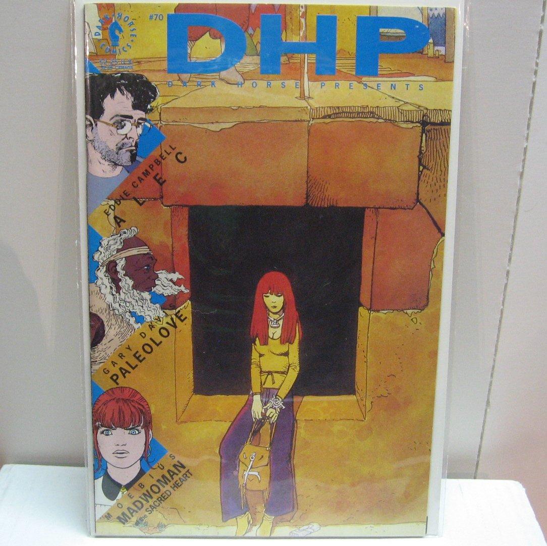DARK HORSE PRESENTS #70 Comic Book - Moebius, Gary Davis, Eddie Campbell