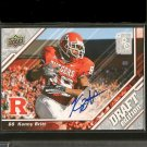 KENNY BRITT 2009 Upper Deck Draft Autograph Rookie RC - Texans & Rutgers
