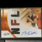 ANDY DALTON 2011 Absolute RPM Autograph Rookie RC #140/299 - Bengals & TCU