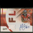 JULIO JONES 2011 Absolute RPM Autograph Rookie RC #220/299 - Falcons & Crimson TIde