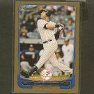 DEREK JETER 2012 Bowman Gold - New York Yankees