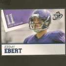 JEREMY EBERT - 2012 Press Pass BLUE RC - Patroits & Northwestern