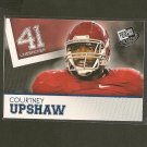 COURTNEY UPSHAW - 2012 Press Pass BLUE RC - Ravens & Alabama Crimson Tide