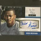 CHRIS GIVENS 2012 Sage Autograph Rookie Card RC #28/50 - St. Louis Rams & Wake Forest