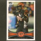 MARVIN JONES 2012 Topps Rookie Card RC - Bengals & Cal Golden Bears