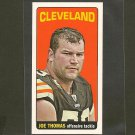 JOE THOMAS 2012 Topps Tall Boy - Cleveland Browns & Wisconsin Badgers