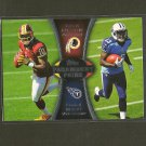 KENDALL WRIGHT & ROBERT GRIFFIN III 2012 Topps Paramount Pairs RC - Redskins, Titans & Baylor
