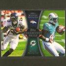WILLIS McGAHEE & LAMAR MILLER 2012 Topps Paramount Pairs RC - Broncos, Dolphins & Hurricanes