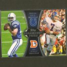 ANDREW LUCK & JOHN ELWAY 2012 Topps Paramount Pairs RC - Colts, Broncos & Stanford
