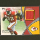 DWAYNE BOWE - 2012 Topps Prolific Playmakers Relic Jersey - Chiefs & LSU Tigers
