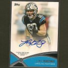 LUKE KUECHLY - 2012 Topps Prolific Playmakers Autograph Rookie RC - Panthers & Boston College Eagles