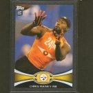 CHRIS RAINEY 2012 Topps Black Border # 42/57 - Steelers, Colts & Florida Gators