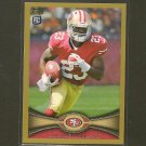 LaMICHAEL JAMES 2012 Topps Gold Border # 1261/2012 - 49ers & Oregon Ducks