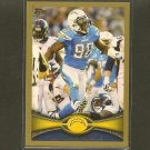 ANTWAN BARNES 2012 Topps Gold Border # 579/2012 - Chargers & Florida International