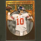 ELI MANNING - 2012 Topps Ring of Honor - NY Giants & Ole Miss
