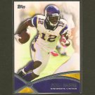 PERCY HARVIN 2012 Topps Prolific Players -  Vikings & Florida Gators