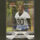 JIMMY GRAHAM 2010 Panini Threads Autograph RC #455/499 - Seahawks & Miami Hurricanes