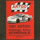 ARTGO Pocket Race Schedule 1991 - Challenge Series - Heilman Brewing Company