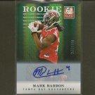 MARK BARRON 2012 Elite Autograph Rookie #272/299 - Buccaneers, Rams & Alabama Crimson Tide