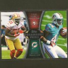 FRANK GORE & LAMAR MILLER 2012 Topps Paramount Pairs RC - Dolphins, 49ers & Hurricanes
